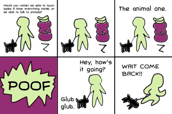 glub comic
