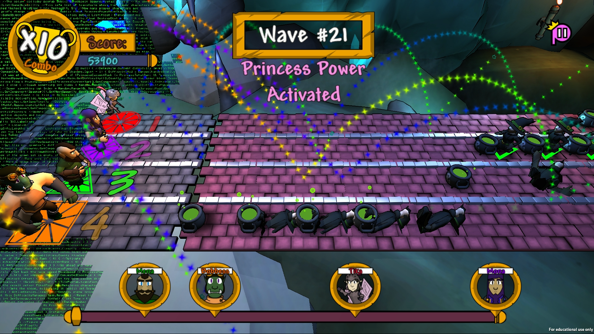 Gameplay (Princess Power)