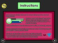 Instructions Screen